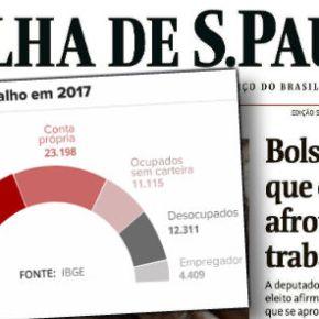 A empresarios, Bolsonaro diz que é melhor trabalhador ser biscateiro que ter direitostrabalhistas