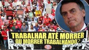 Bolsonaro esconde reforma da Previdência, rejeitada por71%