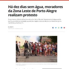 Verdade seja dita: É a Política de Marchezan que deixa bairros populares de Porto Alegre semágua