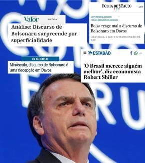 Os 6 minutos em que Bolsonaro prometeu acabar com aposentadoria e direitos  e fez Brasil passar vergonha no mundotodo