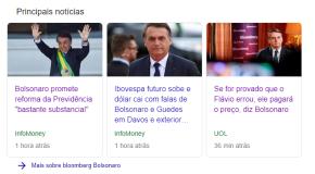 """Em entrevista, Bolsonaro promete acabar com aposentadorias e Previdência  e transforma Flavio em """"boi dePiranha"""""""