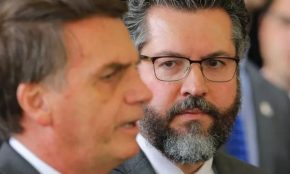 Estadão diz que Bolsonaro e seu Chanceler vão acabar com boa reputação do Brasil nomundo