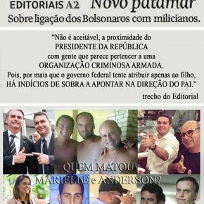 Novo Patamar: Sobre a ligação dos Bolsonaros commilicianos