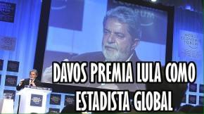 Diferença: Lula recebeu o título de Estadista Global do Fórum de Davos em2010