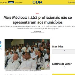Médicos brasileiros ajudam Bolsonaro a detonar o Programa MaisMédicos