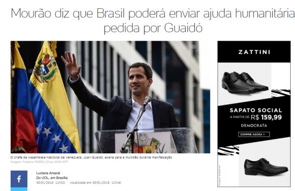 mourão guerra venezuela
