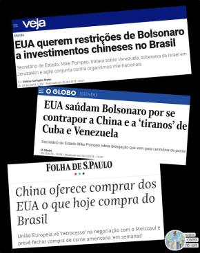 Bolsonaro entrega o Brasil nas mãos de Trump que deixa de comprar nossos produtos agricolas e leva embora aFord