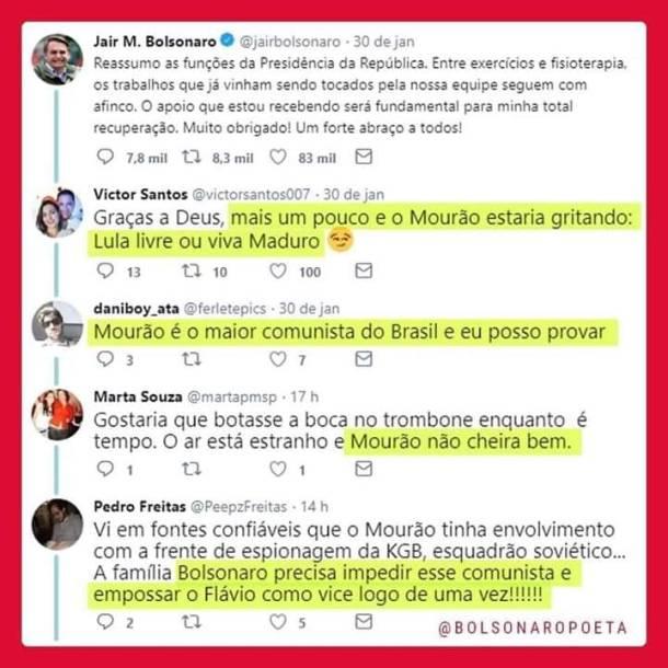 Bolsonaro Mourão