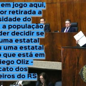 Eduardo Leite quer impedir gaúchos de escolherem se querem energia com Estatal Gaúcha ouChinesa