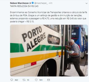 """Surrealismo guasca: Passagem em Porto Alegre sobe de R$ 4,30 para R$ 4,70 mas prefeito COMEMORA suposta""""redução"""""""