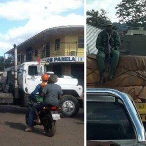 Venezuela mobiliza tropas, tanques e população contra intervenção militar na Fronteira com oBrasil