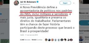 """Começar a tramitar a PEC da Reforma da Previdência deste jeito, dará """"quebra-pau"""", diz FernandoBrito"""