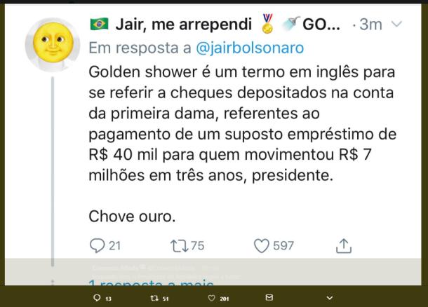 Bolsonaro vergonha 2