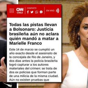 CNN CHILE ACUSA BOLSONARO PELA MORTE DEMARIELLE