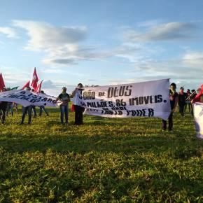 """Mulheres Sem Terra denunciam violência e ocupam fazenda de João de """"Deus"""""""