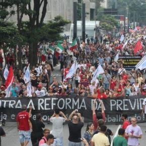 REFORMA DA PREVIDÊNCIA: PÓLO DE RESISTÊNCIA E MOBILIZAÇÃO (Por SelvinoHeck)