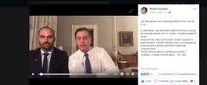 Bolsonaro fala grosso com crianças pobres e fino com os EUA, diz TerezaCampello