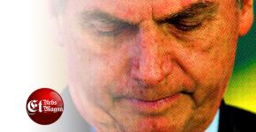 """Bolsonaro diz que ser Presidente é um abacaxi e que esta """"só tocando o barco por poucotempo"""""""