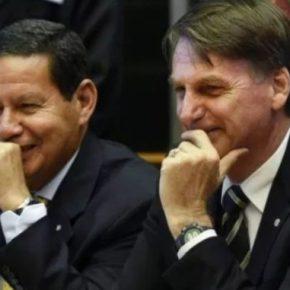 Fofocas do Palácio imperial: Bolsonaro sugere que Mourão atua como presidenteparalelo