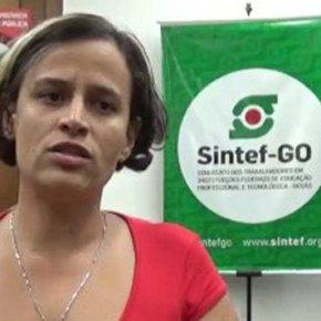 POLÍCIA ENTRA NO INSTITUTO FEDERAL DE GOIÁS E FAZ PRISÃO POLÍTICA DE PROFESSORA(Vídeo)