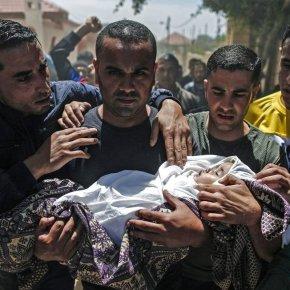 """""""Israel Contra-ataca Palestinos e mata bebê"""" é a manchete.A história éoutra!"""