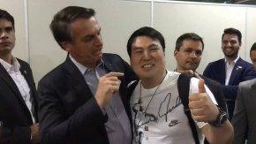 Vergonha: Bolsonaro faz piada com oriental: 'Tudo pequenininhoaí?'