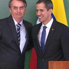 """""""Governo"""" do Brasil desconvida Representante de Guaidó para cerimônia. Quem manda afinal nestabagaça?"""