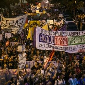 Em Porto Alegre, Milhares de Estudantes nas Ruas Em Defesa da Educação e Contra a Reforma da Previdência(Vídeo)