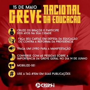 EM TODO O RS, ATOS CHAMADOS PELO CPERS EM DEFESA DA EDUCAÇÃO – VEJA CIDADES ELOCAIS