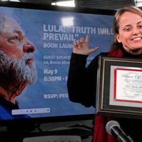 """Lula é homenageado com o título de """"Personalidade do Ano"""" em NovaIorque"""