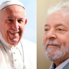 """Papa envia carta a Lula: """"No fim a verdade vencerá amentira"""""""