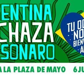 Argentina recepciona Bolsonaro com manifestações derepúdio