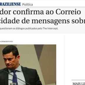PROCURADOR CONFIRMA VERACIDADE DAS CONVERSAS VAZADAS. MORO DEVERIA SERPRESO!