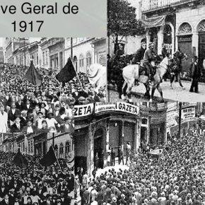 102 anos da 1ª Greve Geral no Brasil. A Classe Trabalhadora muda mas não perde seu papel nahistória