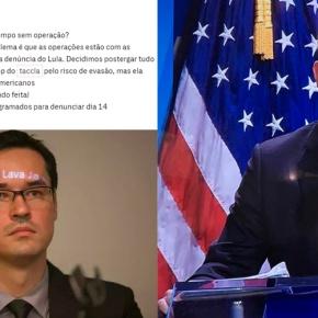 """""""Depende de articulação com os americanos"""", diz Dallagnol a Moro em outra parte das conversasvazadas"""