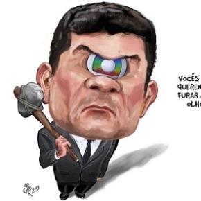 Moro sangra: tem a Globo, mas o resto se esvai (Por FernandoBrito)