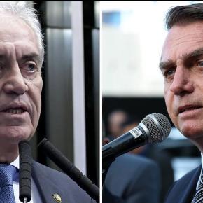 Senador baiano do PSD diz que 'não tem sangue de barata' e não vai a evento comBolsonaro