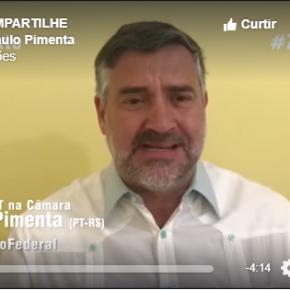 VÍDEO: Paulo Pimenta diz que Globo/RBS e Lava Jato se uniram para atacar adversários e protegeraliados