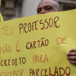 Governo tucano vai pro 40º mês de salários parcelados ouatrasados