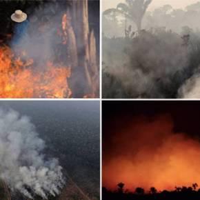 Incêndios na Amazônia: Merkel e Macron pedem que o G7 debata 'emergência'