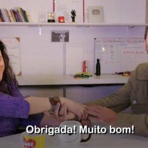 """Estranho flerte: Freixo faz """"programa""""  com Janaina Pascoal(vídeo)"""