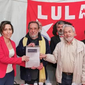Juízes Para a Democracia entregam carta pela liberdade e revisão de processos deLula