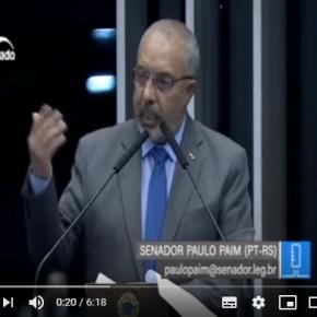 Paim apresenta 13 emendas à Reforma da Previdência para impedir mais maldades contra trabalhadores(Vídeo)