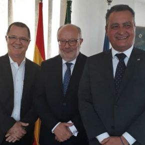 Presidente do Consórcio do Nordeste, Rui se reúne com embaixadores da Itália e daEspanha