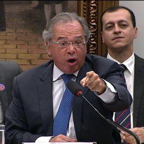 Imitando o chefe, Paulo Guedes fala muito e entregapouco