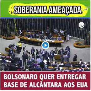 Simbologia: Em plena Semana da Pátria (7 de setembro) Governo quer entregar a Base de Alcântara aosEUA