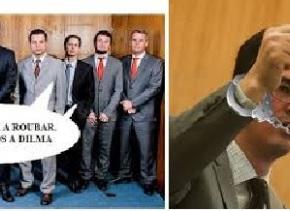 Praticam crimes, se protegem como mafiosos e se organizam como partido político. Mas sãoprocuradores