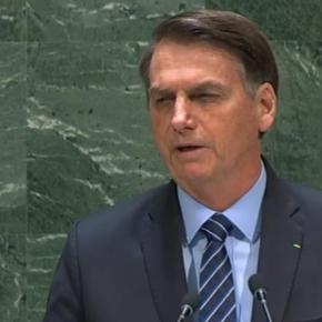 #BolsonaroVergonhaMundial: Na ONU, Bolsonaro ataca outros países, exalta ditadura e puxa saco de Trump eEUA