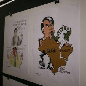 Porto Alegre: Censura bolsonarista acaba com exposição de cartunistas na Câmara deVereadores