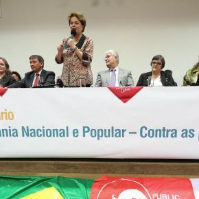 Dilma, Haddad e Boulos lançam frente no Congresso em defesa da soberanianacional